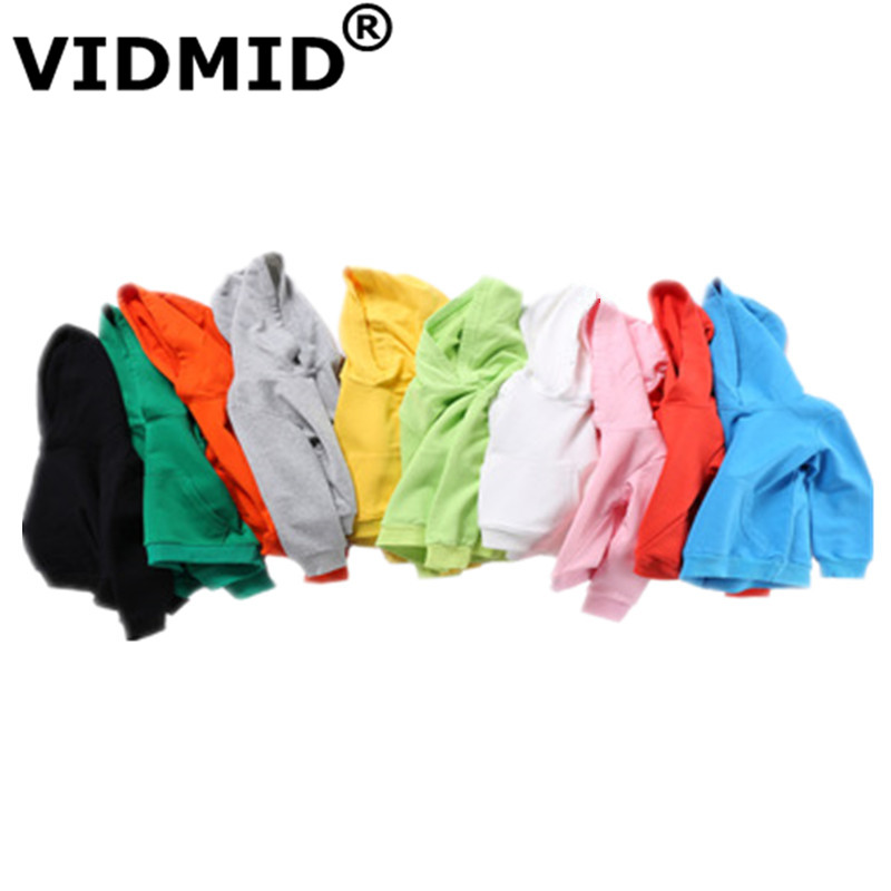 VIDMID Boys jackets for girls kids hooded coat T-shirt Baby Boys Clothes Long Sleeve sweater Children's clothing tops 7060 02 2
