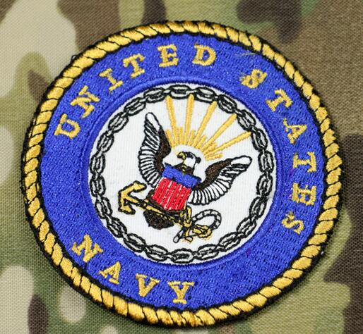 10pcs Embroidery United States Navy Emblem Cloth Morale Armband