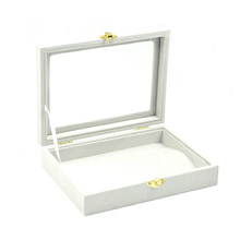 New 2014 Fashion jewelry Accessories box necklaces & pendants storage box necklace wedding gift birthday Freeshipping(China)
