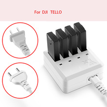 Tello Charger 4in1 Multi Battery Charging Hub for DJI tello Drone Intelligent Flight Battery Quick Charging US/EU Plug