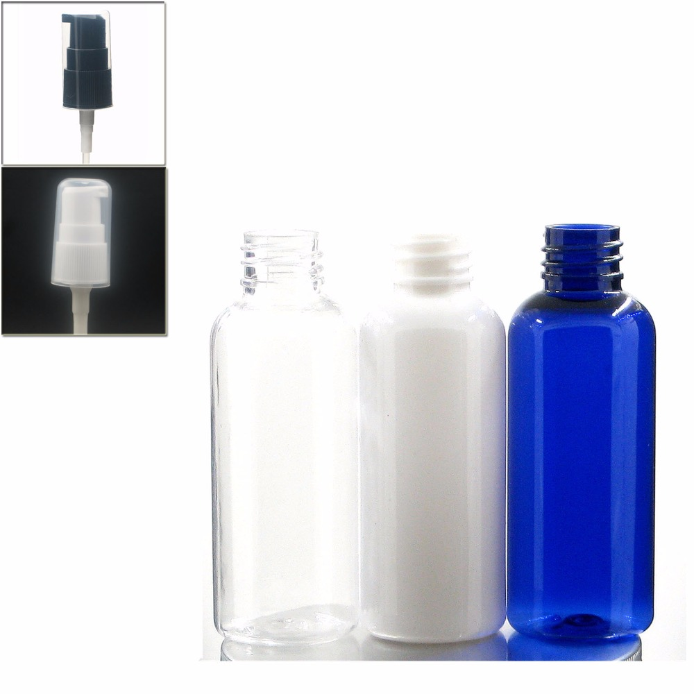 Leere 100ml Klare rote weiße blaue Bernstein Plastik Spray
