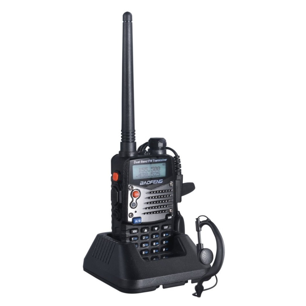 BAOFENG UV-5RA Professional Hand-held Transceiver FM Radio Receiver Walkie-talkie Interphone Scanner Dual Band Dual-Standby