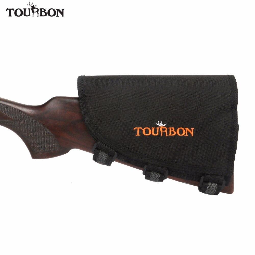 Tourbon accessoires de pistolet de chasse fusil pistolet Buttstock repose-joue w/3 patins de tir ajusté détient 10 cartouches de fusil porte-munitions