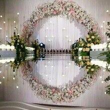 10 м/лот, ширина 120 см, серебряный свадебный ковер, Т-образное ковровое покрытие для сцены, дорожка для свадебной вечеринки, сценическое украшение для свадьбы, толщина 0,13 мм