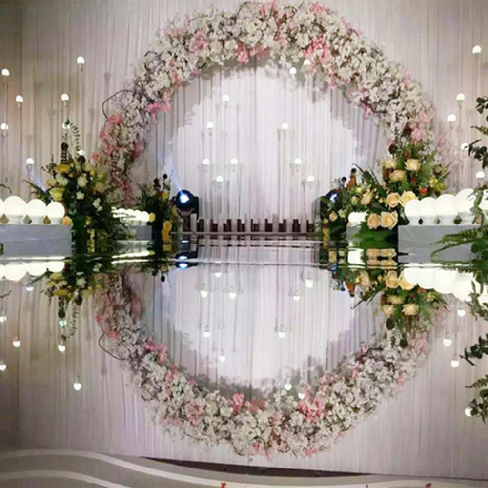 10 Meter Lot 120cm Width Silver Wedding Carpet T Stage Carpet