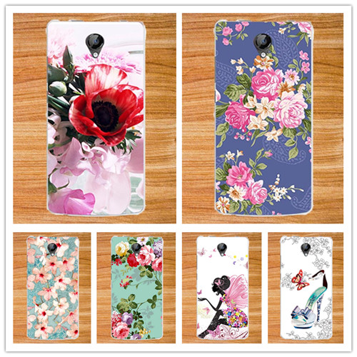 For Micromax D320 Case Cover,Diy Painting Colored Flowers Fruit Soft Tpu  Case Cover For Micromax Bolt D320 4.5 Cases Sheer