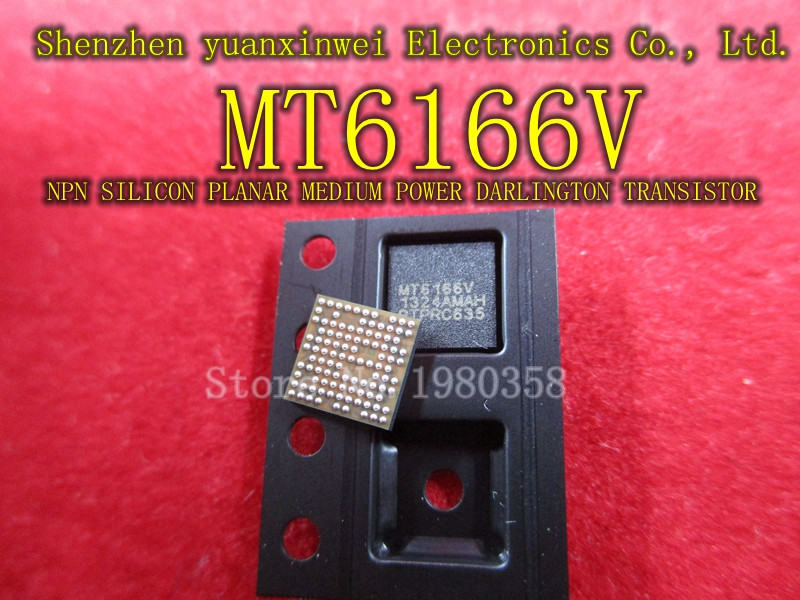 1 pcs/lot IC MT6166V MT6166V-AMAH MT6166 6166 MTK BGA1 pcs/lot IC MT6166V MT6166V-AMAH MT6166 6166 MTK BGA