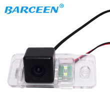CCD HD Car Reverse Rear View Backup Camera for Audi A4(B6/B7/B8)/A6L  parking camera Free shipping
