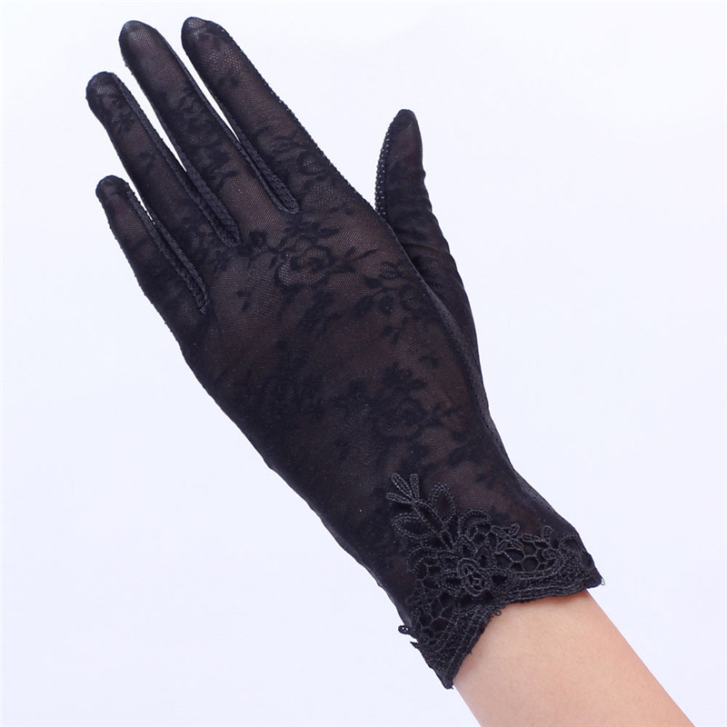 Women's Summer UV-Proof Driving Gloves Gloves Lace Gloves luvas hand gloves guantes eldiven handschoenen 40FE1903