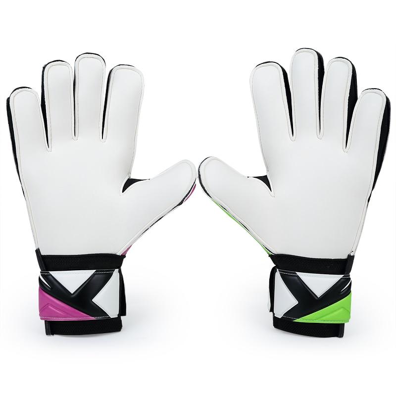 JANUS Professional Women Goalkeeper Gloves Thickened Latex Finger  Protection Soccer Goalie Gloves Football Goal keeper Gloves-in Goalie Gloves  from Sports ... 6e07f73006