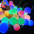 2017 NUEVA 3 M 30LED Luces led Ball Cuerdas AA batería Guirnalda de Luz Pandant para Decoración de Jardín Decoración Del Partido Suministros