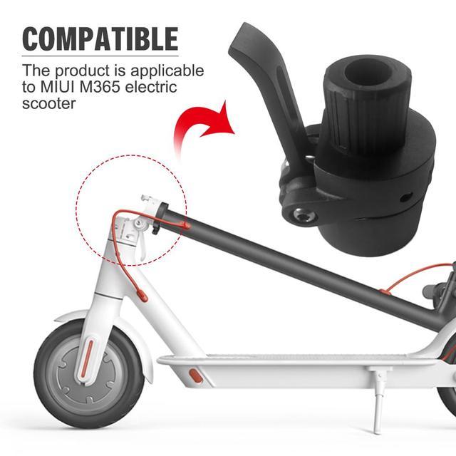 100% marke Neue BlackElectric Roller Ordner Langlebig Klapp Stange Für M365 Elektrische Roller Zubehör Unterstützung Großhandel
