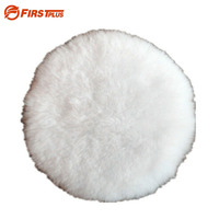 8Inches 200mm Genuine Wool Polishing Pad Car Grinding Head Pads For Car Machine Polisher