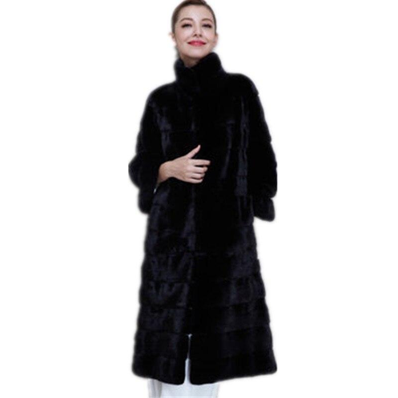 Здесь продается  2018 Elegant Winter Coats Female Hooded Fur Coat Women