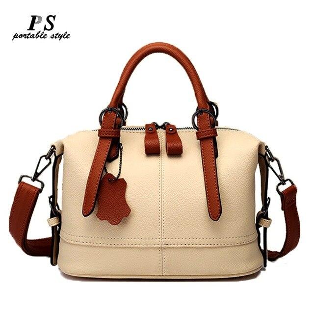 Natural Cowhide Handbag