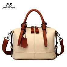 Натуральная сумочка из натуральной кожи, женские кожаные сумки, большие сумки на плечо, модные женские сумки-мессенджеры, повседневная сумка-тоут