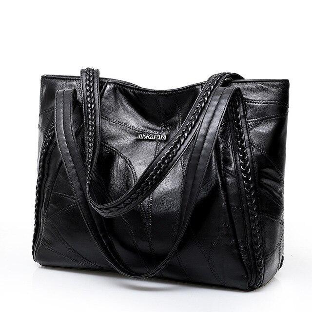 Women Bag Oil Wax Leather...