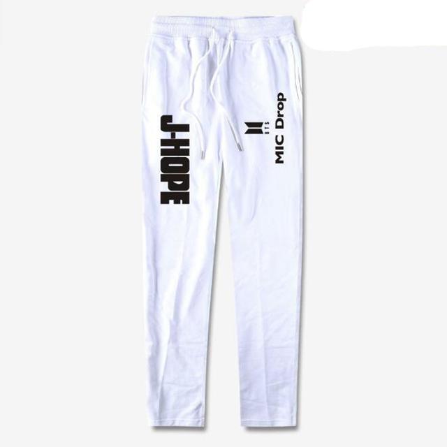 Women BTS Kpop MIC Drop 100% Cotton Dance Pants