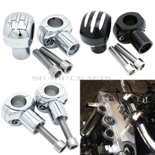 Motorcycle Edge Cut Handle Bar Clamp Handlebar Riser For Kawasaki Vulcan 800 900 1500 1600 1700 2000 Shadow VT750 Steed VLX400
