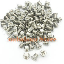 "500PCS/100pcs 2.5""screws for POWEREDGE SERVER DXD9H G176J KG7NR 8FKXC 378343 001  654540 001 hdd tray special screws"