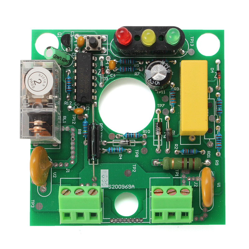 For Blue Water Pump Automatic Perssure Control Electronic Switch Circuit Board 10A water level controller switch water tower tank automatic pumping drainage water shortage protection control circuit board