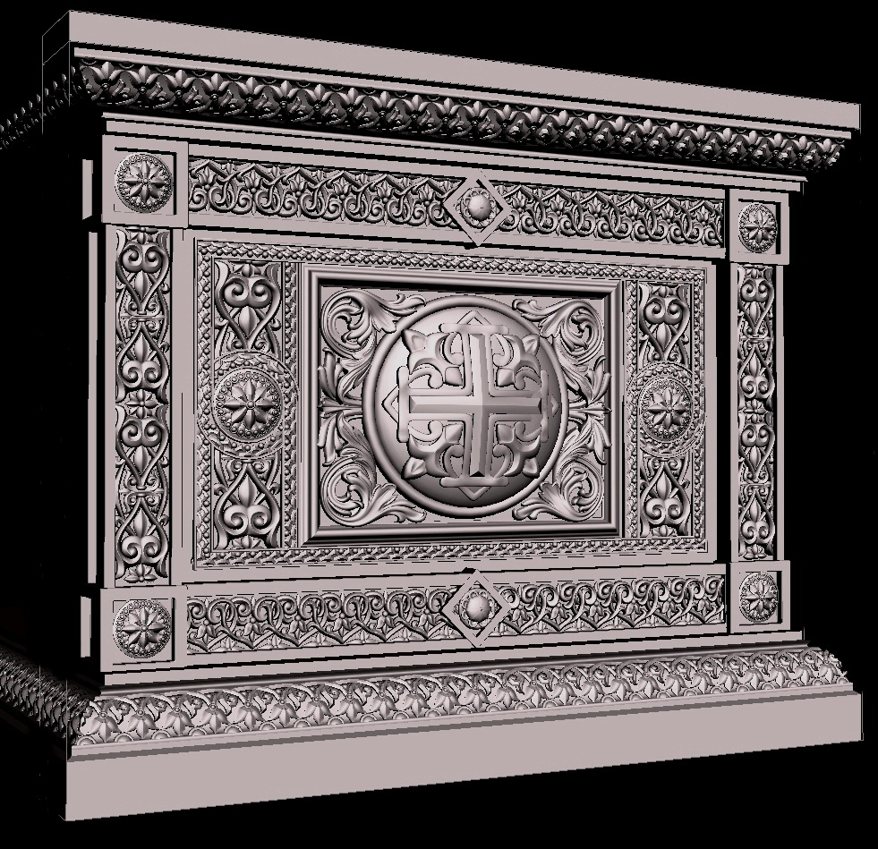 US $7 0 |Delicate 3d Box Relief Model STL files for CNC Router Engraving  for artcam vectric aspire-in Woodworking Machinery Parts from Tools on