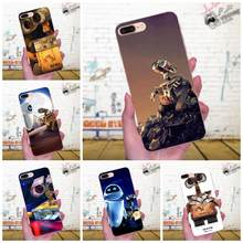 Wall-e Robot Wall E Movie Good-looking Soft TPU Capa Case For Apple iPhone X XS Max XR 4 4S 5 5C 5S SE 6 6S 7 8 Plus(China)