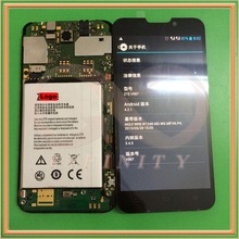 In Stock 100% Tested NEW 5.0inch Display For ZTE V987 Grand X Quad LCD Screen With Touch Panel Digitizer+tracking number