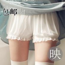 цена на summer Lace Breathable Leggings Thin White Bloomers