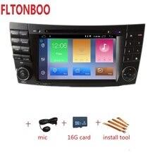 """7 """"Android 9 di Navigazione GPS Per Auto radio lettore dvd per BENZ W211, Canbus, bluetooth, volante, 16 GB di ROM,"""