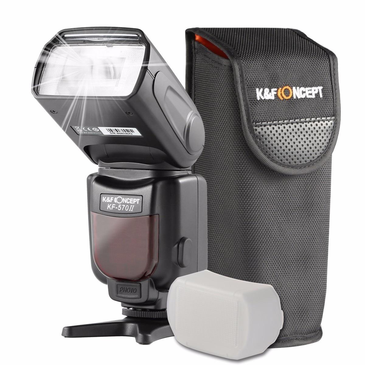 K & f concept kf-570 ii kamera wireless high speed flash speedlite - Kamera und Foto - Foto 6