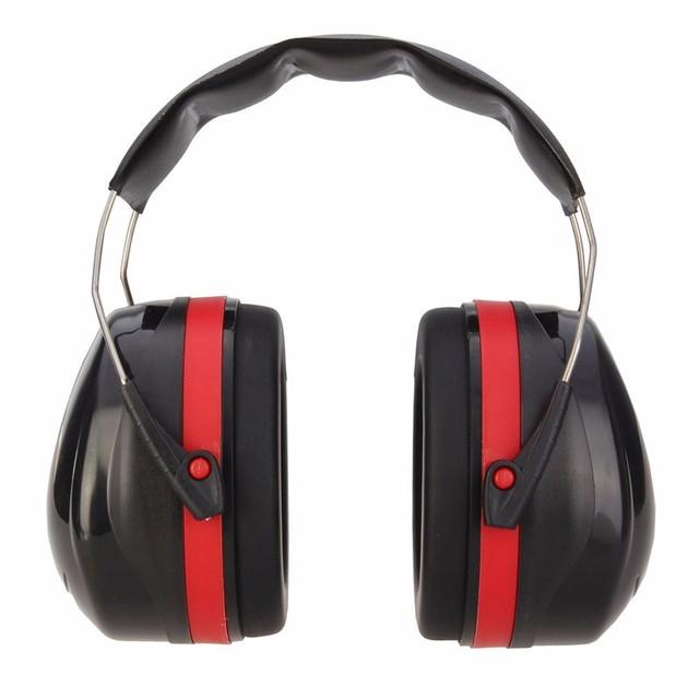 NOVAS Earmuffs Anti-ruído Protetor Auricular Ao Ar Livre Caça Tiro Sono proteção de Orelha Muff Da Orelha fábrica aprender À Prova de Som Mudo