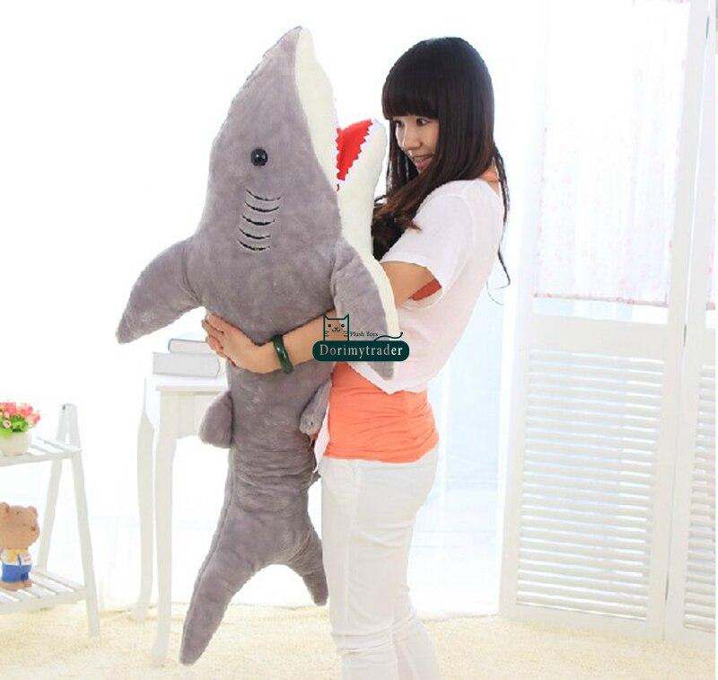 Giant Stuffed Shark popular big plush shark-buy cheap big plush shark lots from china