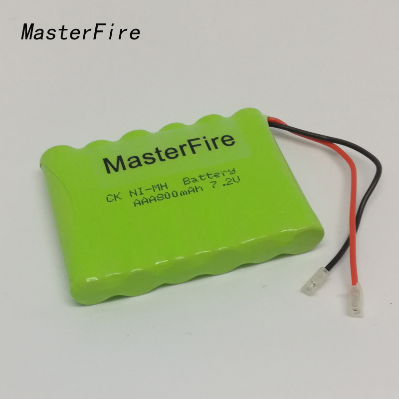 MasterFire Brand New 7.2V AAA 800mAh Ni-MH Battery Rechargeable Batteries Pack Free Shipping free shipping 502730 rechargeable brand new 3 7v lithium battery pack with high capacity 350mah for multi functional use