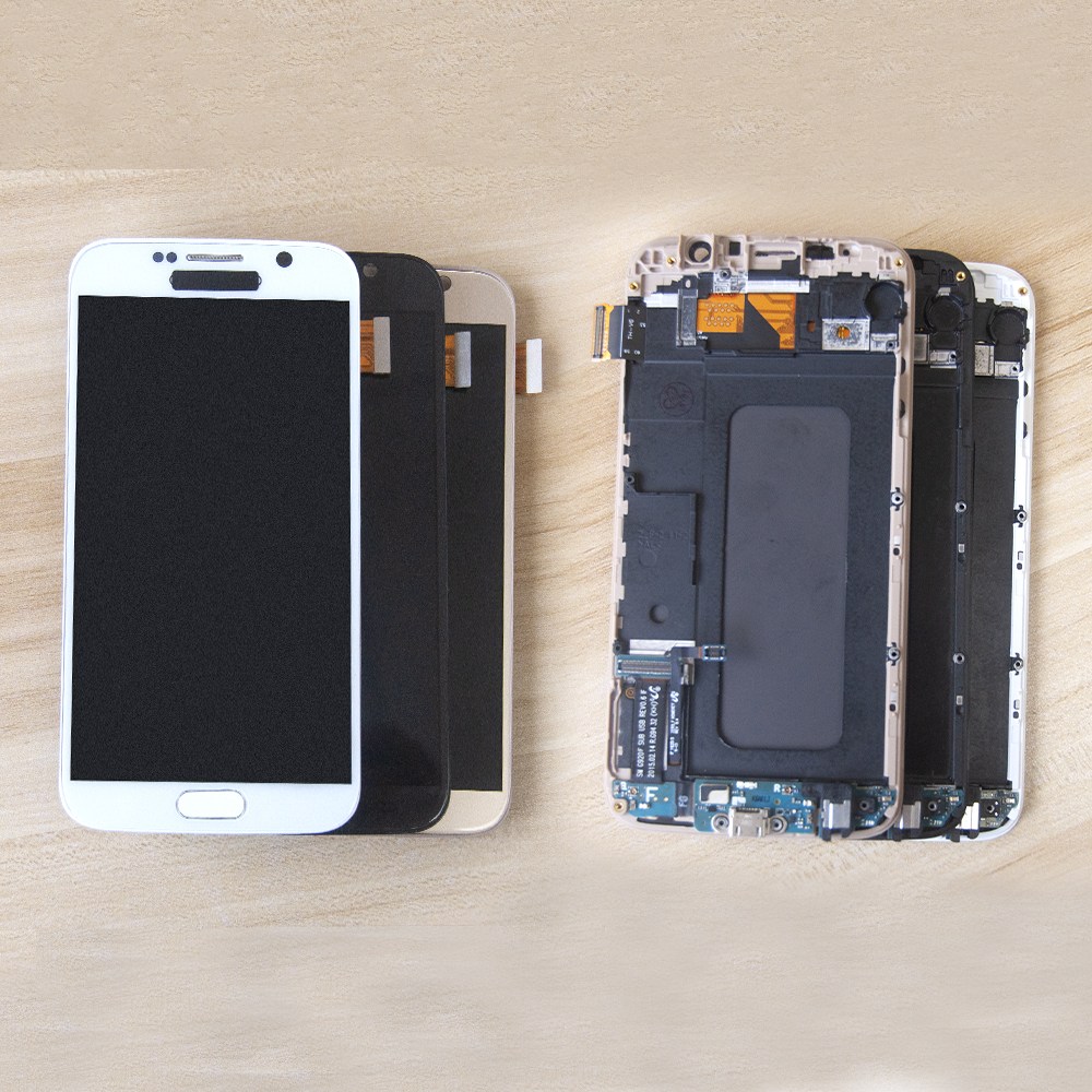 Sinbeda TFT 5.1 For Samsung Galaxy S6 LCD Display G920F G920A G920T Touch Screen Digitizer Assembly Frame For Samsung S6 LCDSinbeda TFT 5.1 For Samsung Galaxy S6 LCD Display G920F G920A G920T Touch Screen Digitizer Assembly Frame For Samsung S6 LCD