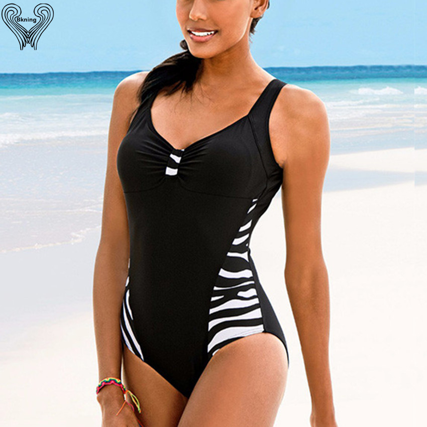 One Piece Swimwear Women Plus Size Sport Suit Push Up Biquini Tank Top Swimsuit Female Large Swimwear Vintage Beachwear 4XL H058 fashionable women s sports bra mesh perspective tank top black leggings three piece suit