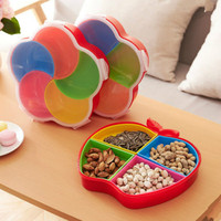 New Arrive Candy Snack Nut Holder Compote Tray Dish Decoration Plate Kitchen Office Storage Box Wheat