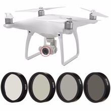 New 4pc ND2 ND4 ND8 ND16 Len Filter for DJI Phantom 3 4 Professional Advanced Camera