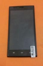 Originele touchscreen + lcd scherm + Frame voor THL T6C 5.0 inch MTK 6580 Quad Core Gratis verzending