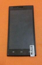 Touch screen Original + display LCD + Quadro para THL T6C 5.0 polegadas MTK 6580 Quad Core Frete grátis