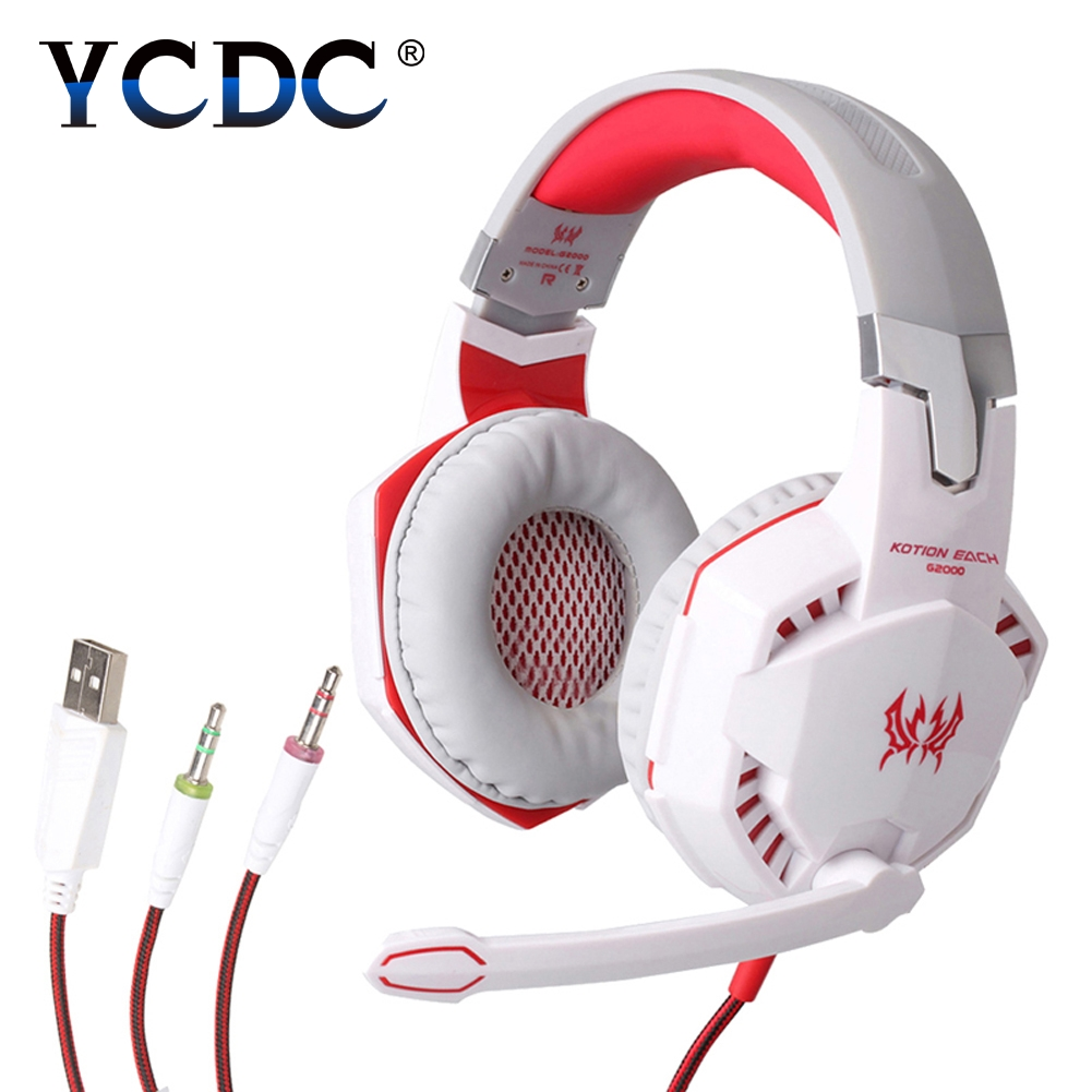 YCDC 3 colors 1.5M 3.5mm AUX Wired HeadPhones Stereo Bass Headset Headband Over Ear Headphone With Mic For Mobile Phone insermore active noise cancelling headphones wired bass stereo surround headset with mic flight headband for iphone xiaomi iq 3