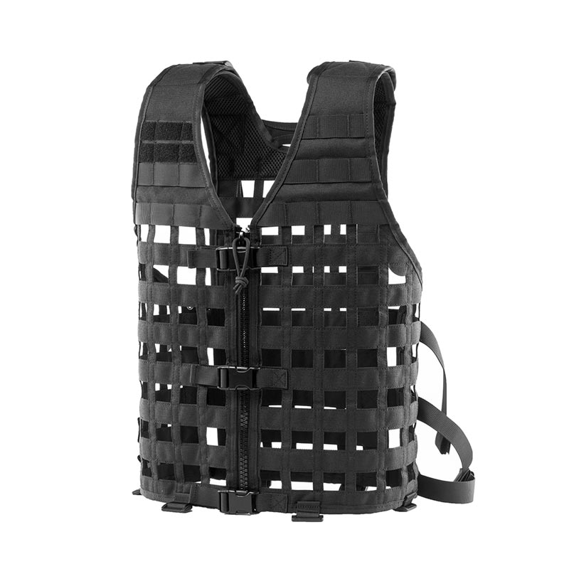 OneTigris Netted Modular Airsoft Vest Outdoor CS Vest Molle Equipment 1000D Nylon Cloth Tactical Molle Hunting