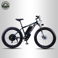 Love Freedom 26 inch Electric Bike 48V 13ah Lithium Battery Electric Mountain Bike 500W Motor Electric Snow Bicycle