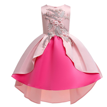 Kids Dresses For Girls Elegant Princess Dress Flower Girls Dresses For Party and Wedding Dress Children Easter Carnival Costume ircomll girls party dresses kids dress new flower design flower appliqued a line princess costume for girls wedding birthday