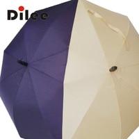 2016 The Latest And Most Fashionable Umbrella Personalized Creative Couples Umbrella Long Handled Automatic Umbrella Korean