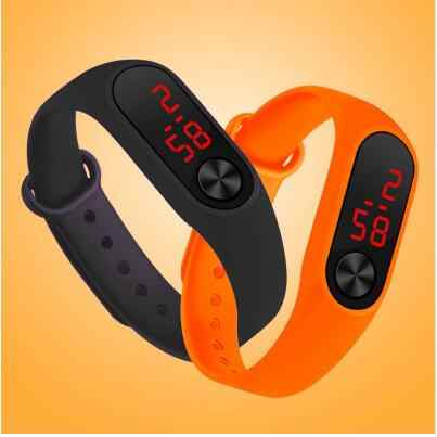 Fashion LED watch boys girls kids children students sport digital watch new mens womens touch screen silicone Running watches