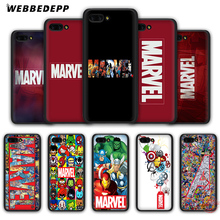 WEBBEDEPP класса люкс с логотипом комиксов Marvel мягкий чехол для Honor 20 10 9 9X8 Lite 8C 8X 7X 7C 7A, 3 Гб оперативной памяти, 6A Pro вид 20