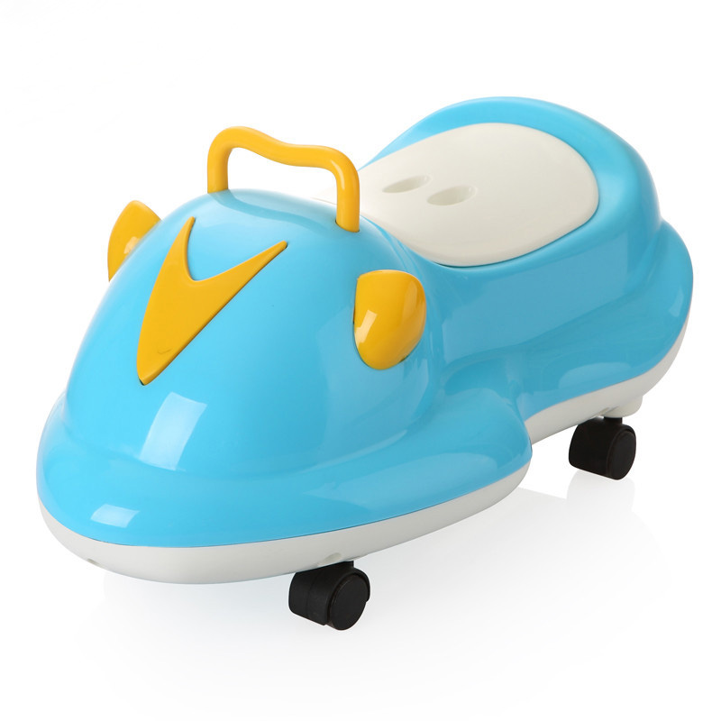 2018 Child Potty Plastic Cartoon Car Baby Toilet Training Boy Girls Child Toilet Seat Portable Kids Potty Children's Pot Toilet