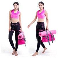 Multifunctional Clothes Yoga Bag Yoga Backpack 2018 Shoulder Waterproof Yoga Pilates Mat Case Bag Carriers Gym Mat Sport Bag