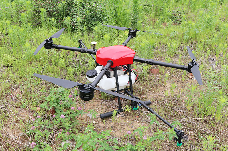 1Set E410 1300mm Wheelbase Flight Platform Waterproof Agricultural Spraying Drone 10L Folding UAV Quadcopter 8118 100KV Power